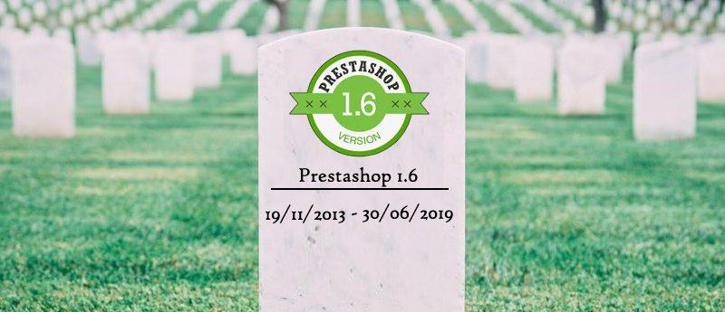 ps16 rip 800x345 - Prestashop 1.6, fin de soporte oficial junio 2019. Que ocurrirá y que debemos hacer